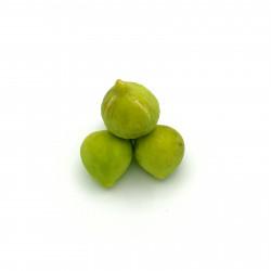 Higos verdes cuello de dama