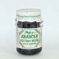 Aceituna negra bajo Aragón