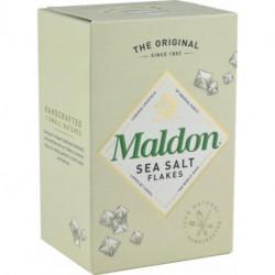Escamas de sal marina